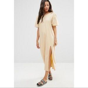 (ASOS) Zulu and Zephyr Beach T-shirt Maxi Dress